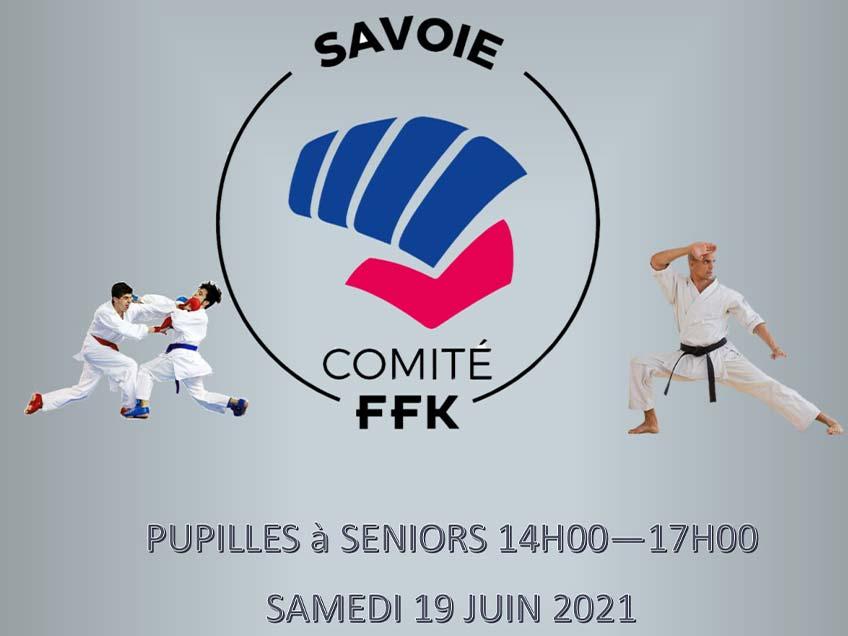 Stage kumite et kata du 19 juin 2021