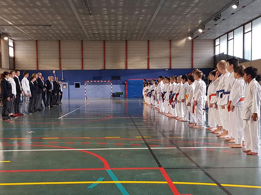 KCVG : Coupe départementale Savoie kata pupilles/benjamins