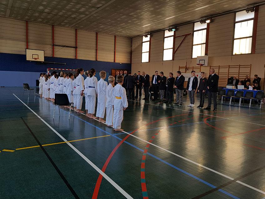 KCVG : Coupe départementale Kata pupilles et benjamins, Championnat de Savoie Kata minimes à seniors 2018