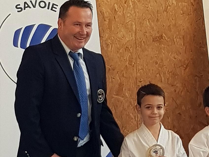 Coupe départementale kata 2017/2018