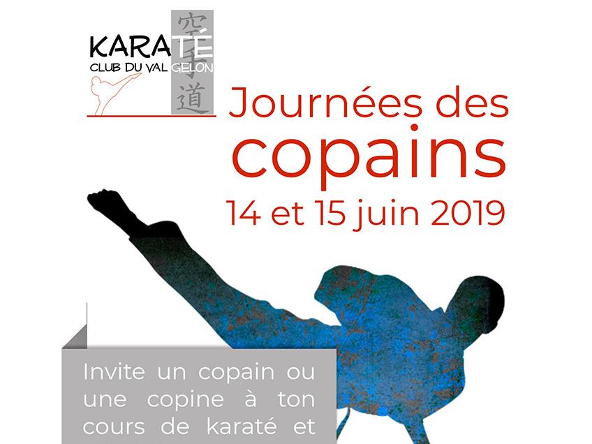 Journées des copains 2019 Karaté Club du Val Gelon